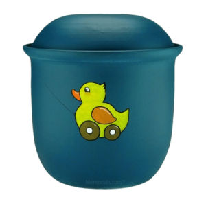 Child cremation urns usually offer peaceful and heartwarming designs
