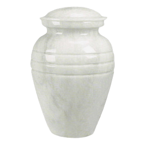 Some marble urns follow the classic vase design