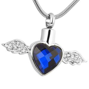 Cremation jewelry is a comforting memorial option to create a remembrance